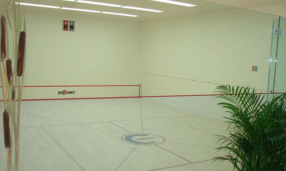 relaxační centrum - squash